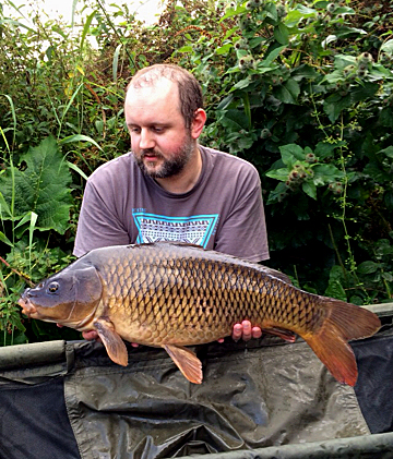What a stunning common, Brandes carp are definitely worth waiting for. Not huge at 13lb 12oz but who cares when they look like this.