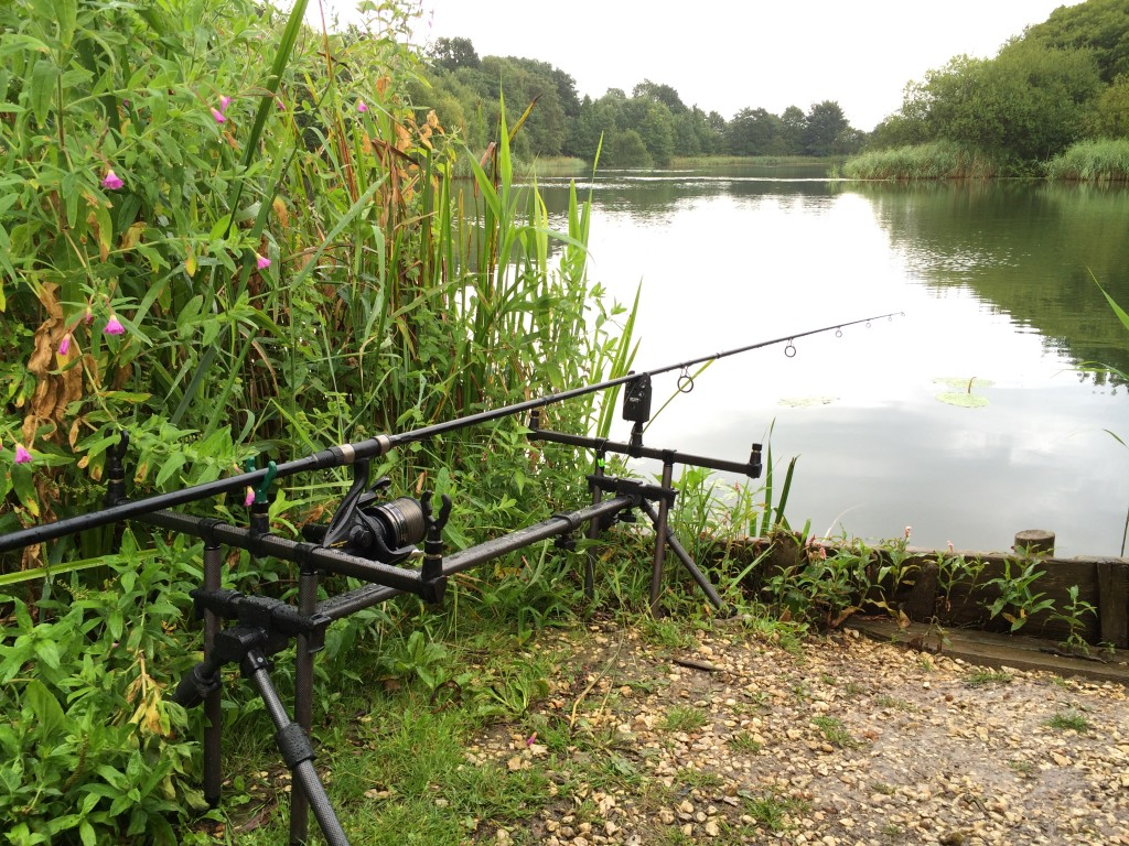 I was that confident I only put one rod out at first - I normally get all 3 out as quickly as I can!