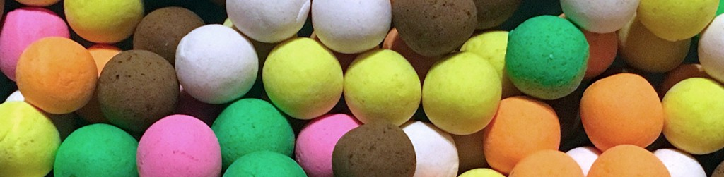 A Mixture of Different Coloured Boilies